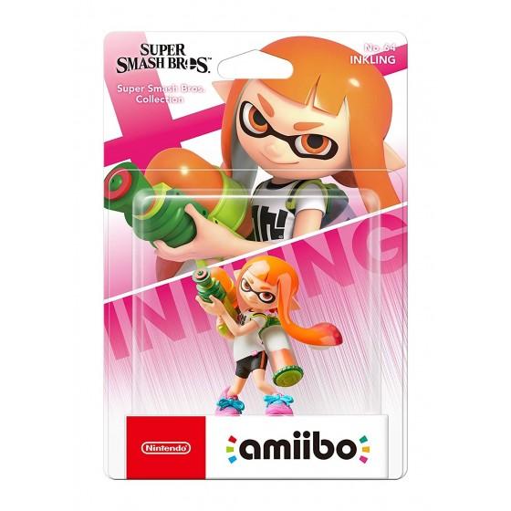 Nintendo Amiibo - Inkling - Super Smash Bros Ultimate