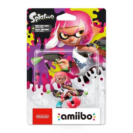 Nintendo Amiibo - Inkling Girl Neon Pink - Splatoon