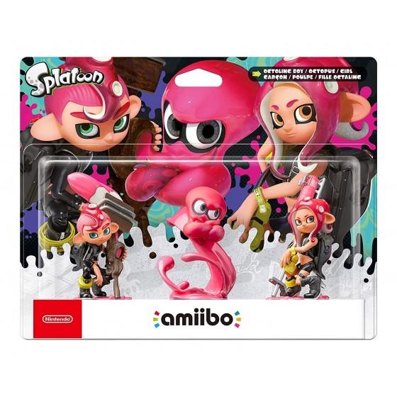 Nintendo Amiibo - Octoling Boy/Octopus/Girl - Splatoon