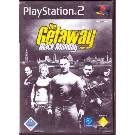 The Getaway: Black Monday - PS2 usato
