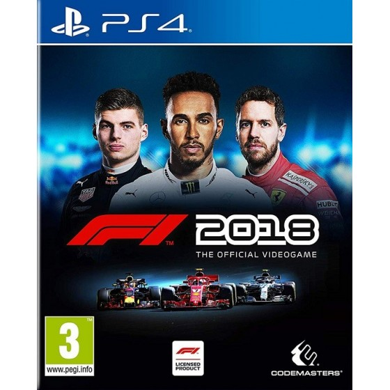 F1 2018 per ps4