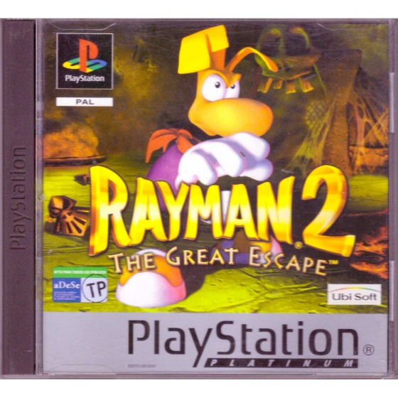 Rayman 2 The Great Escape - Platinum - PS1