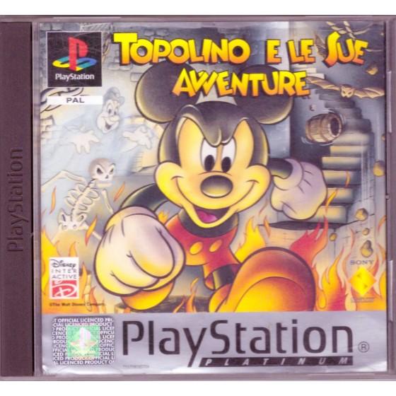 Topolino e le sue Avventure - Platinum - PS1