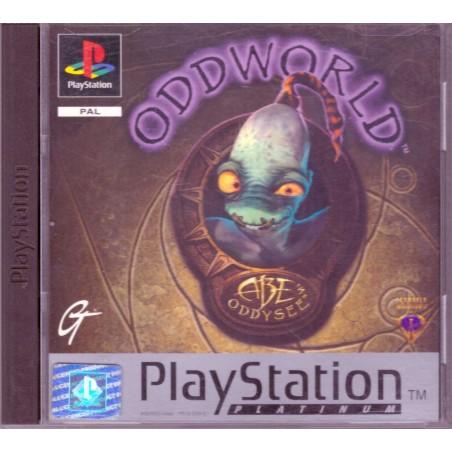 Oddworld: Abe's Oddysee - Platinum - PS1