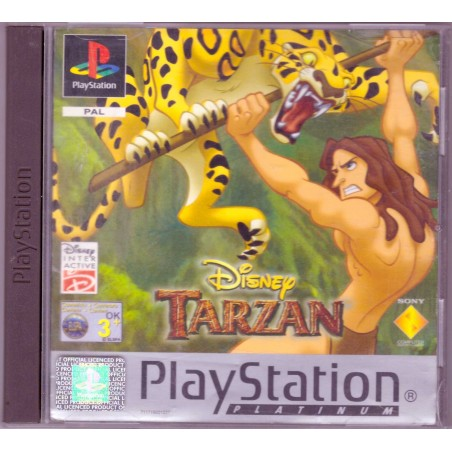 Disney's Tarzan - Platinum - PS1