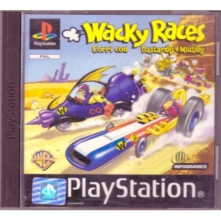 Wacky Races: Corri con Dastardly e Muttley - PS1