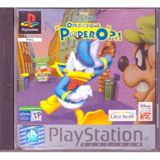 Disney's Paperino Operazione Papero - Platinum - PS1
