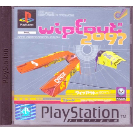 Wipeout 2097 - Platinum - PS1