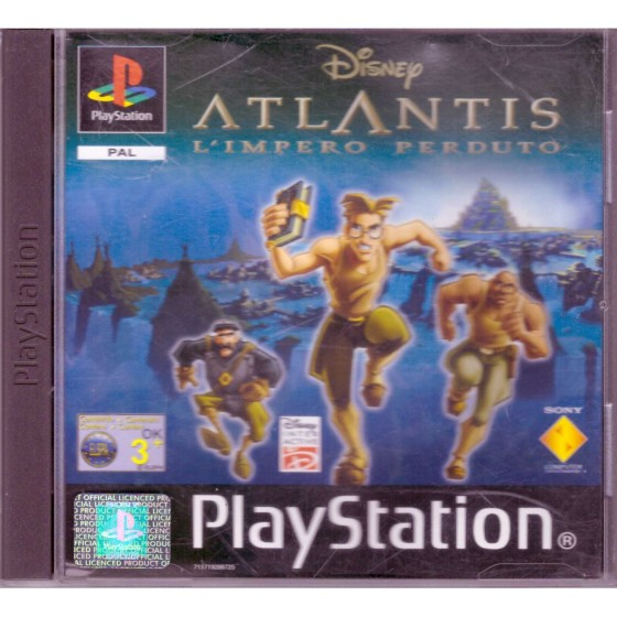 Disney's Atlantis: L'impero Perduto - PS1