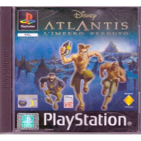 Disney's Atlantis: L'impero Perduto - PS1