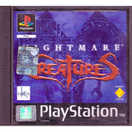 Nightmare Creatures - PS1