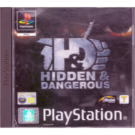 Hidden & Dangerous - PS1