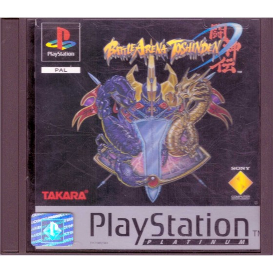 Battle Arena Toshinden - Platinum - PS1