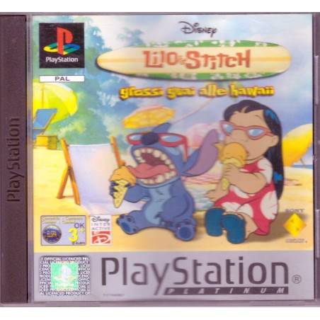 Disney's Lilo & Stitch Grossi Guai alle Hawaii - Platinum - PS1