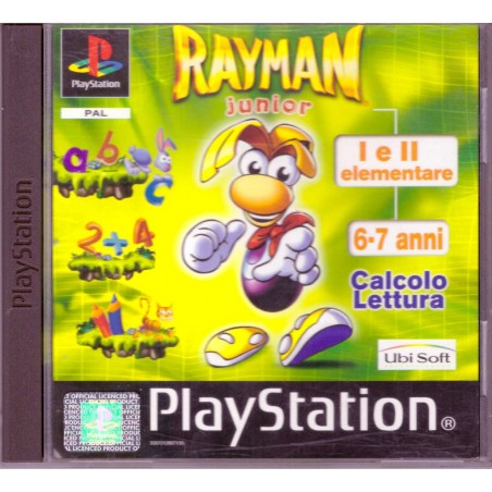 Rayman Junior I e II Elementare - PS1
