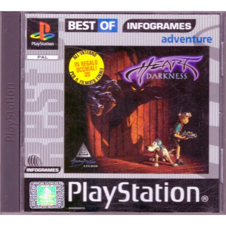 Heart of Darkness - Infogrames Series - PS1