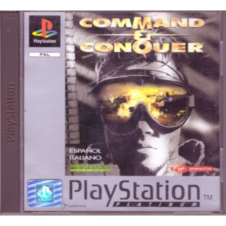 Command & Conquer - Platinum - PS1