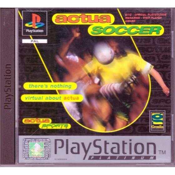 Actua Soccer - Platinum - PS1