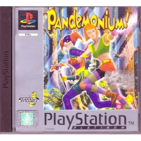 Pandemonium - Platinum - PS1