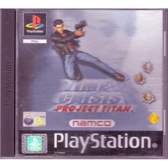 Time Crisis: Project Titan - PS1
