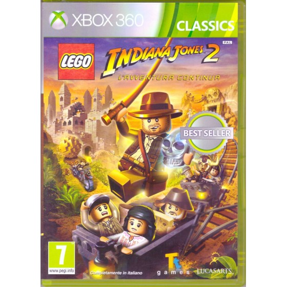 Lego Indiana Jones 2 - Xbox 360
