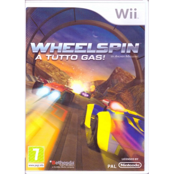 Wheelspin - Wii usato