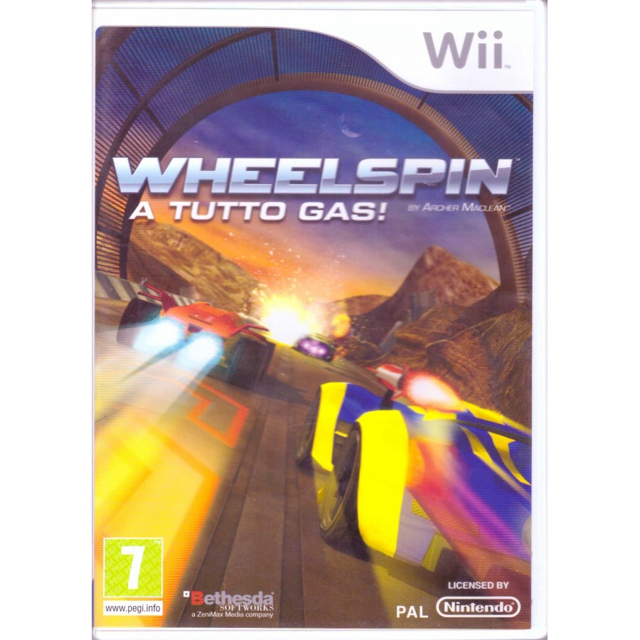 Wheelspin - Wii