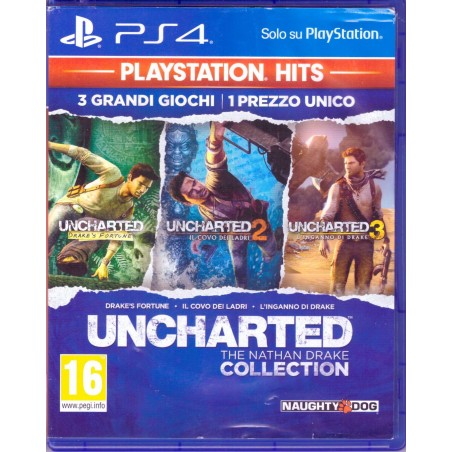 Uncharted: The Nathan Drake Collection - Playstation Hits - PS4