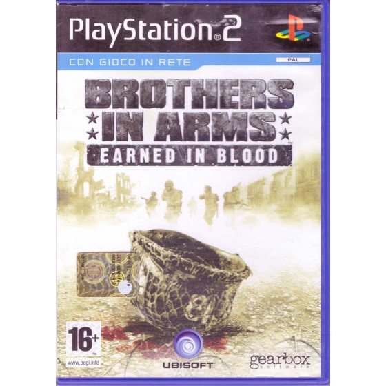 Brothers In Arms: Earned in Blood - PS2 usato