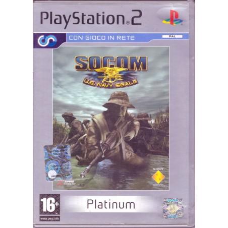 SOCOM: U.S. Navy Seals - Platinum - PS2