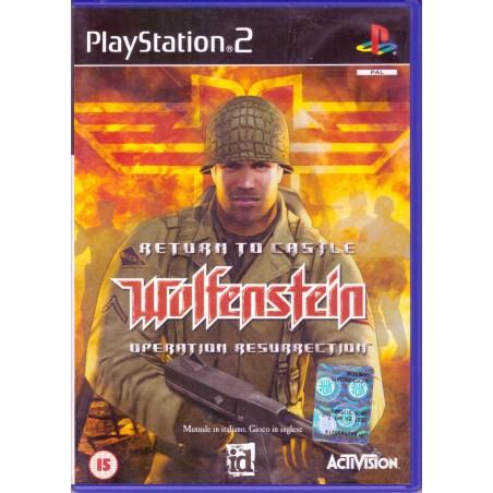 Return to Castle Wolfenstein: Operation Resurrection - PS2