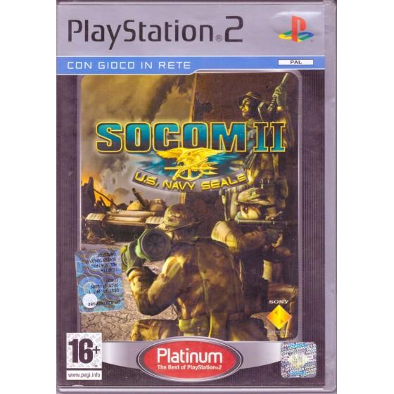 SOCOM II: U.S. Navy Seals - Platinum - PS2