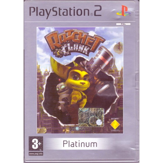 Ratchet & Clank - Platinum - PS2