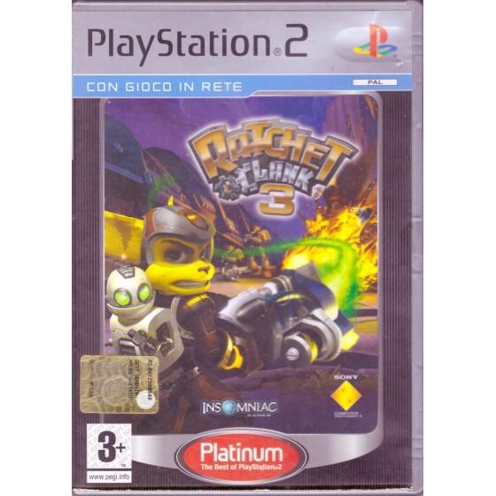 Ratchet & Clank 3 - Platinum - PS2 usato