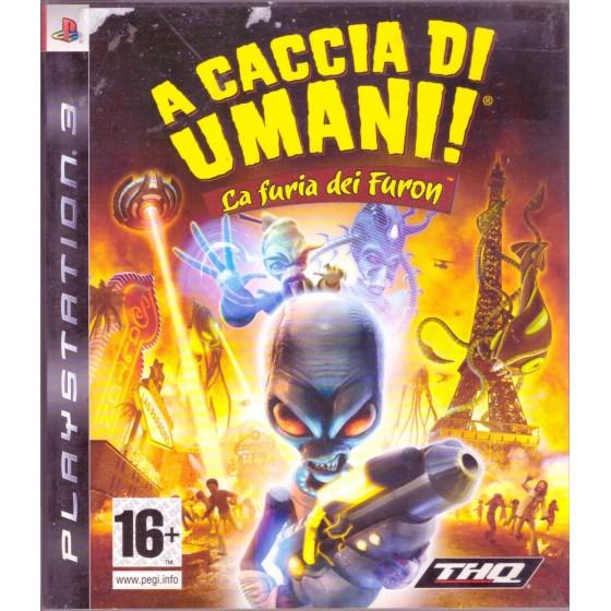 A Caccia di Umani! La Furia dei Furon - PS3