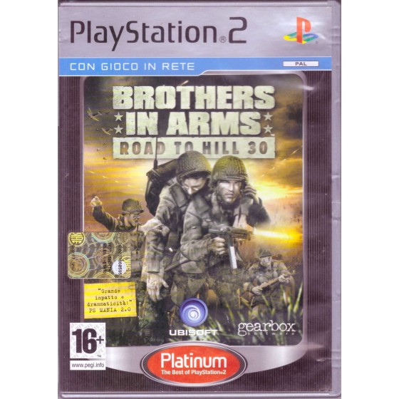 Brothers In Arms: Road to Hill 30 - Platinum - PS2