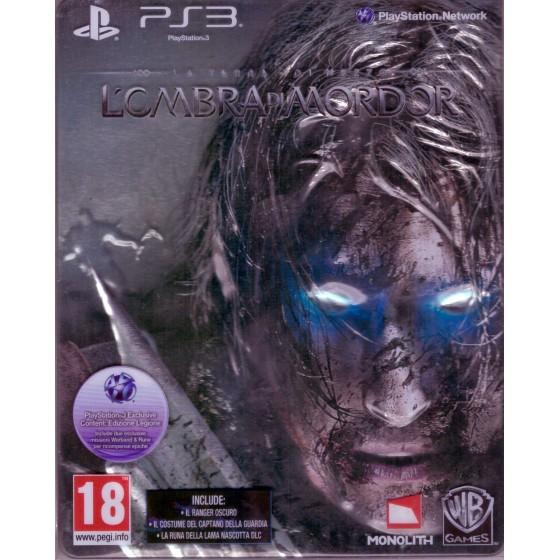 La Terra di Mezzo: L'Ombra di Mordor - Steelbook Edition - PS3