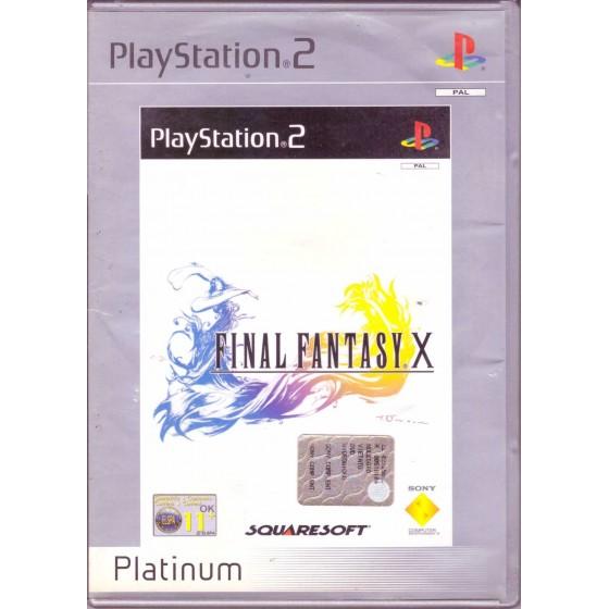 Final Fantasy X - Platinum - PS2