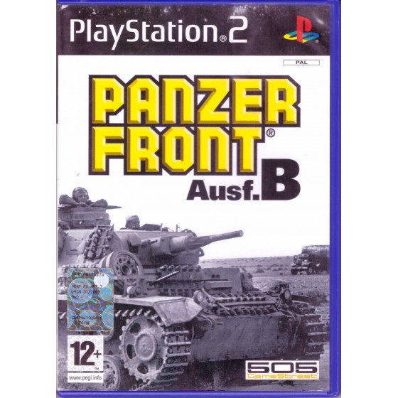 Panzer Front Ausf.B - PS2