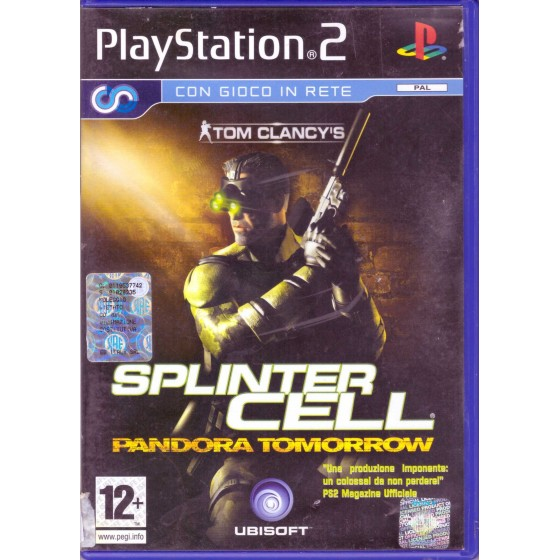 Tom Clancy's Splinter Cell Pandora Tomorrow - PS2