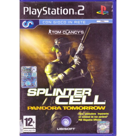 Tom Clancy's Splinter Cell Pandora Tomorrow - PS2
