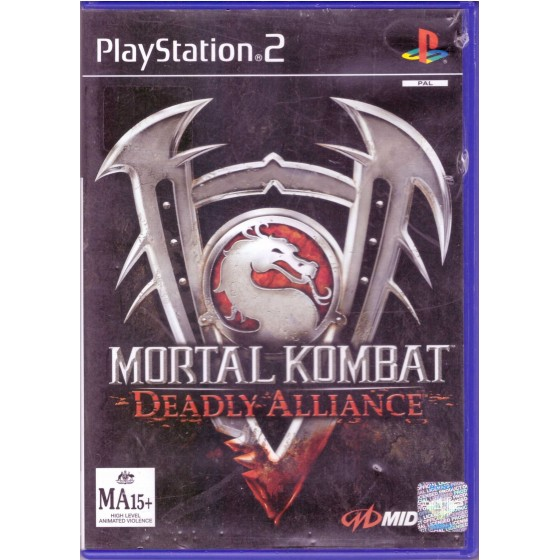 Mortal Kombat Deadly Alliance - PS2