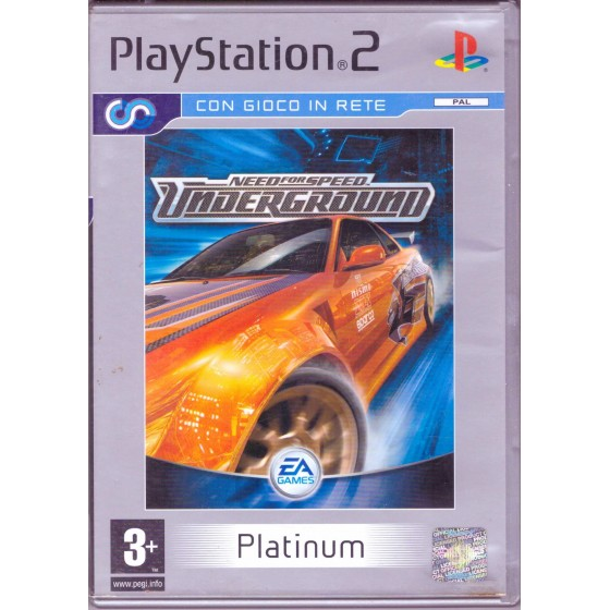 Need for Speed Underground - Platinum - PS2