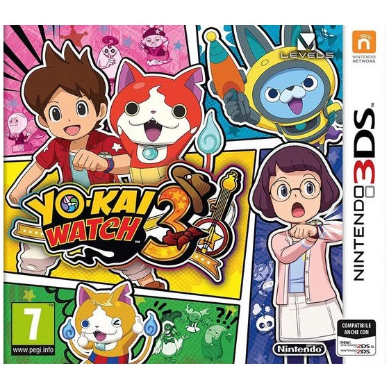 Yo-Kai Watch 3 - 3DS