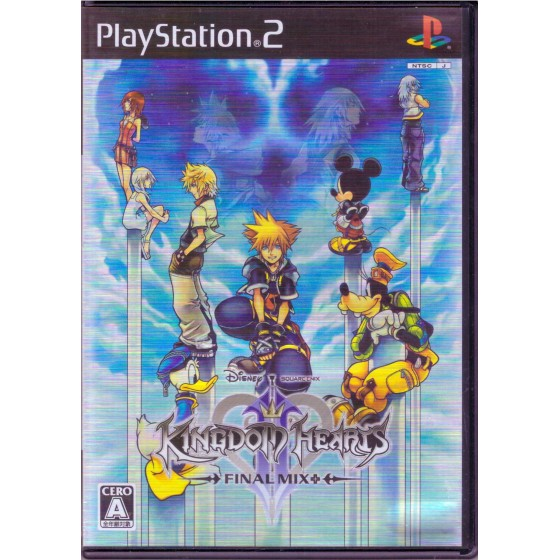Kingdom Hearts 2 - Final Mix + - JAP - PS2
