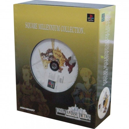 Final Fantasy Tactics - Square Millenium Collection - PS1 JAP