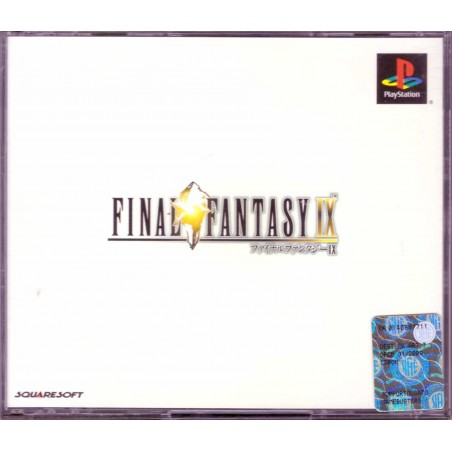 Final Fantasy IX - PS1 JAP