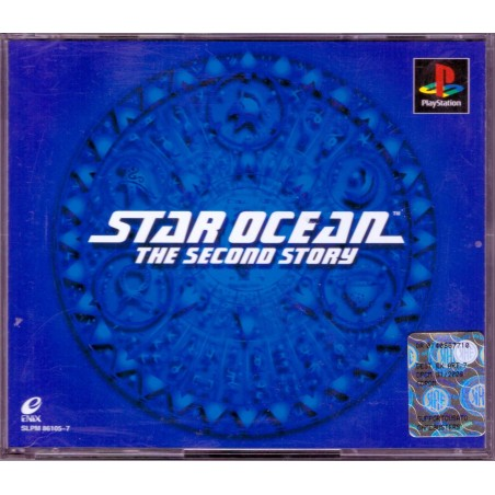 Star Ocean: The Second Story - PS1 JAP