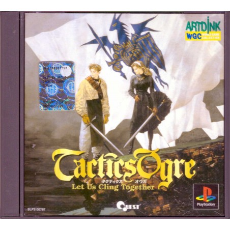 Tactics Ogre: Let Us Cling Together - PS1 JAP