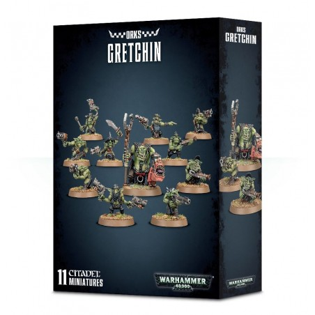 Warhammer 40.000 - Orks Gretchin - The Gamebusters